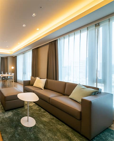 NEW LUXURY SERVICED APARTMENT 2020 Osaka Dojima. A residence as Urban Oasis with high living priviledge of both business private life for you.