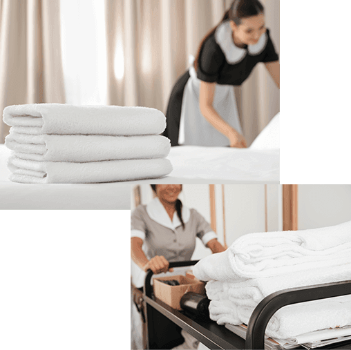 Hotel-like full-range services
